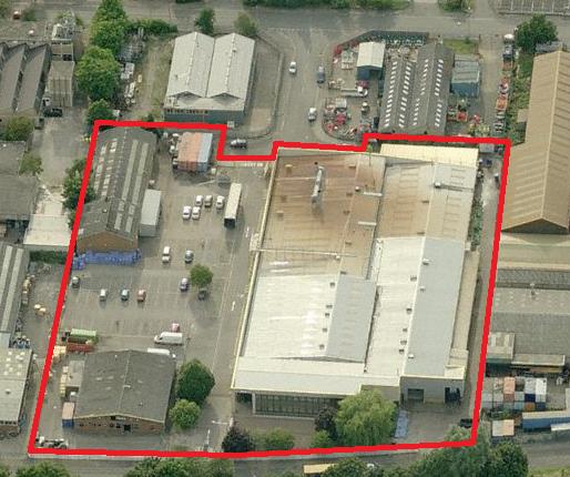 Thumbnail Warehouse for sale in Haydock Park Road, Osmaston Park Industrial Estate, Derby