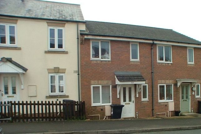 Thumbnail Terraced house to rent in Colliers Field, Cinderford