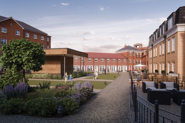 Thumbnail Flat for sale in Boughton Court, Garden Square East, Dickens Heath