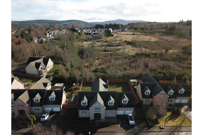 Aerial View of Provost Black Way, Banchory AB31
