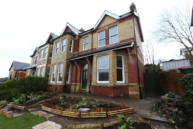 Thumbnail Semi-detached house for sale in Llanthewy Road, Newport, Gwent