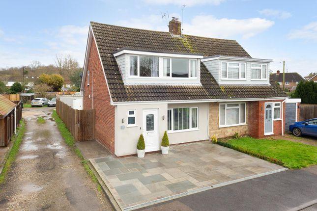 Semi-detached house for sale in Dukes Meadow, Hamstreet, Ashford