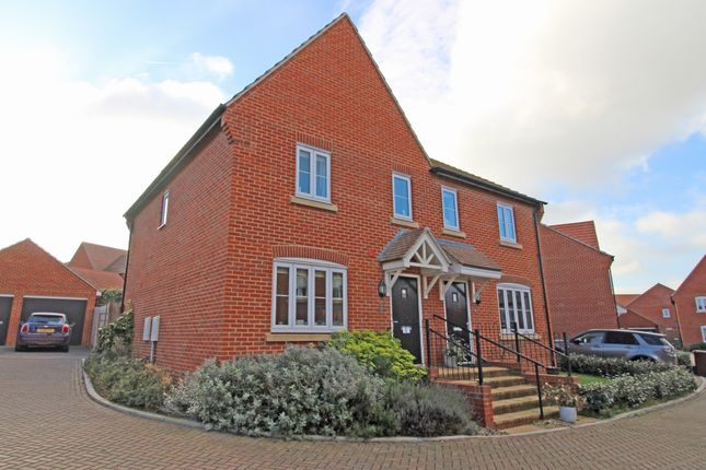 Thumbnail Terraced house to rent in Olaf Schmid Mews, Didcot, Oxfordshire