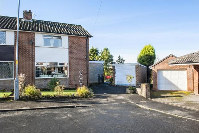 Thumbnail Semi-detached house for sale in Queens Drive, Hyde