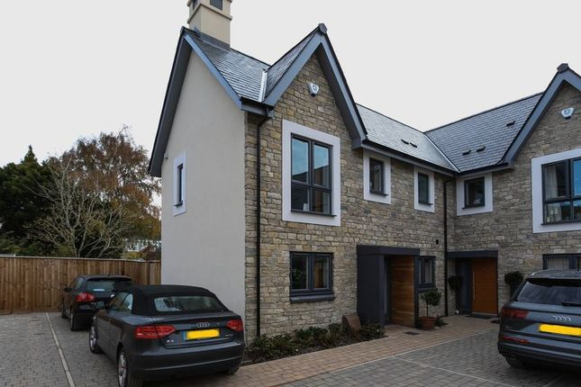 Thumbnail Terraced house to rent in Salisbury Grove, Clevedon