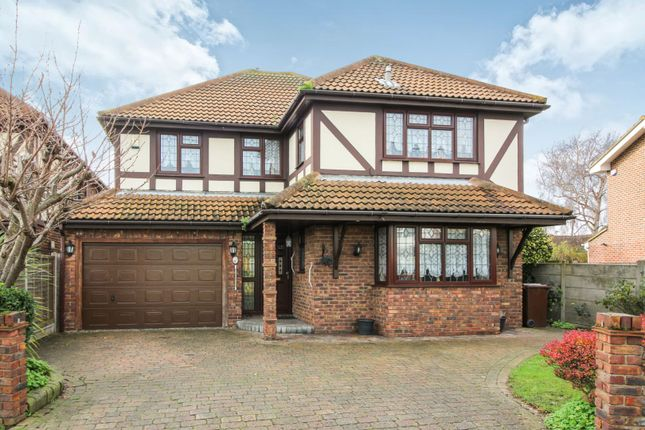 Thumbnail Detached house for sale in Holbek Road, Canvey Island