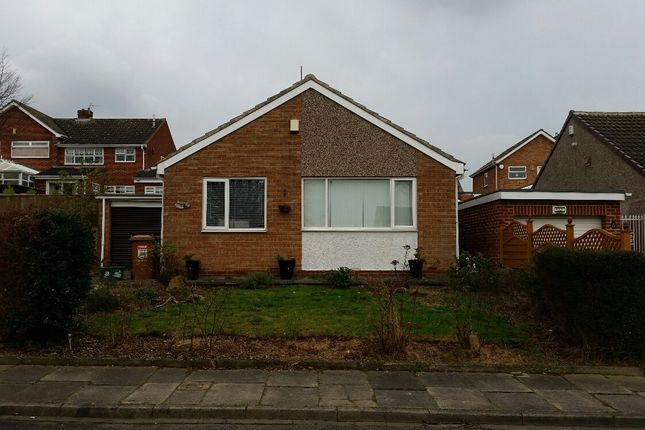 Thumbnail Detached bungalow to rent in Crowland Road, Hartlepool