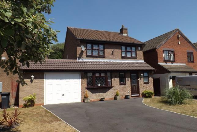 Thumbnail Detached house for sale in Castle Crescent, Castle Bromwich, Birmingham
