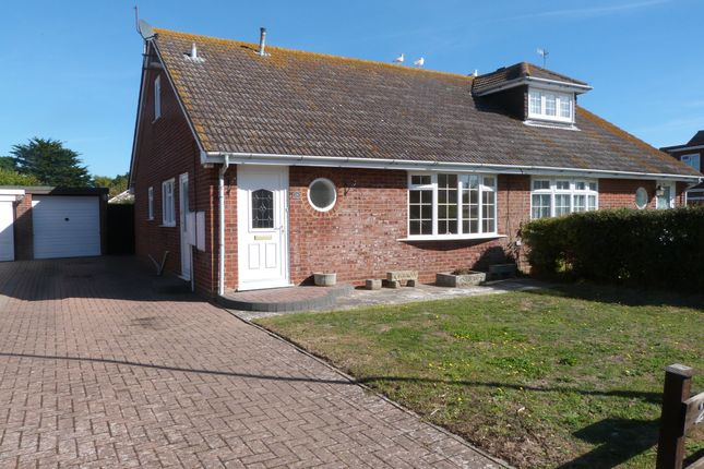 Thumbnail Semi-detached house for sale in Park Crescent, Selsey, Chichester