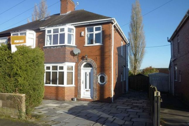 Thumbnail Semi-detached house to rent in Parkfield Road, Dresden, Stoke-On-Trent