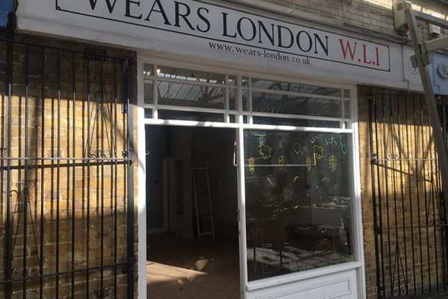 Retail premises to let in 9 Greenwich Market, Greenwich, London