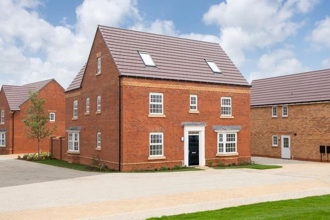 "Thumbnail Detached house for sale in ""Moorecroft"" at Carters Lane, Kiln Farm, Milton Keynes"