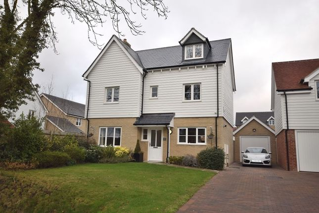 Thumbnail Detached house for sale in Eldridge Close, Clavering, Saffron Walden
