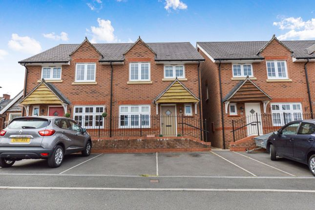 Thumbnail Semi-detached house for sale in Maes Bengi, Oakdale, Blackwood