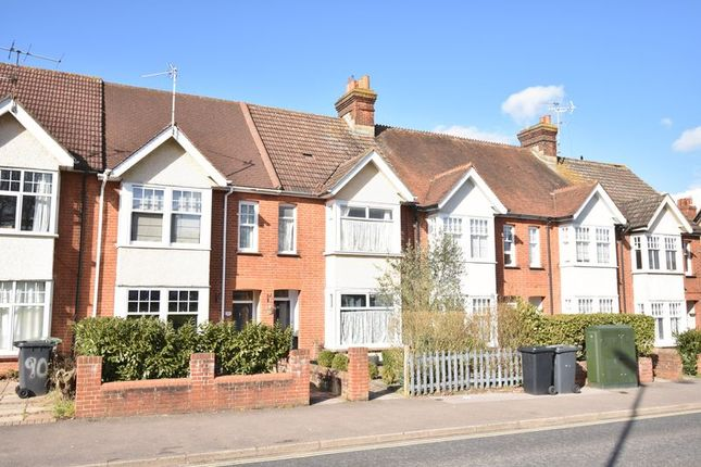 Thumbnail Terraced house to rent in Worting Road, Basingstoke