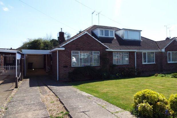 Thumbnail Semi-detached bungalow to rent in Ladycroft, Cubbington, Leamington Spa