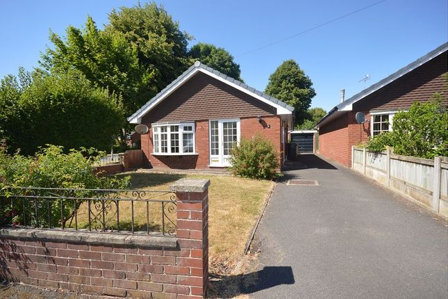 Thumbnail Detached bungalow to rent in Rostherne Way, Sandbach, Cheshire