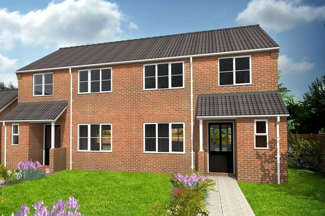 Thumbnail Semi-detached house for sale in Cumberland Way, Scampton, Lincoln