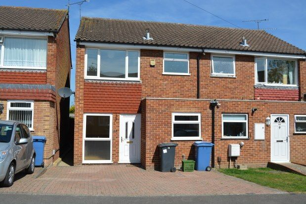 Thumbnail Semi-detached house to rent in Foxley Close, Camberley