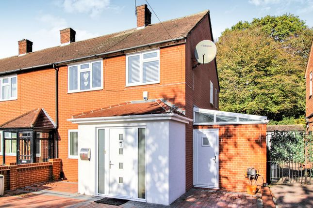 Thumbnail Semi-detached house for sale in Brocket Way, Chigwell