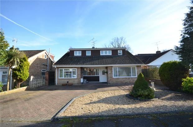 Thumbnail Detached house for sale in Ash Close, Blackwater, Surrey