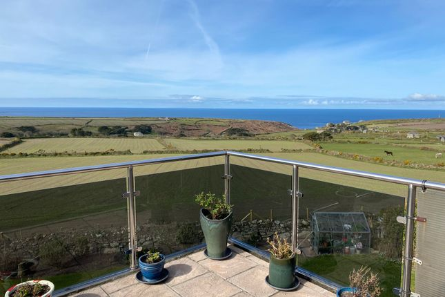 Thumbnail Detached bungalow for sale in Higher Bosavern, St. Just, Penzance