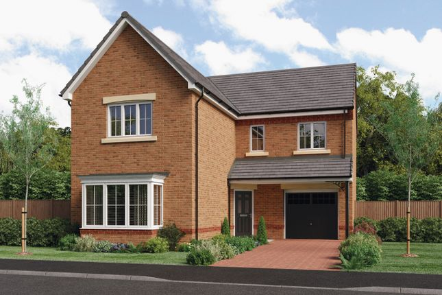Thumbnail Detached house for sale in Creswell Court, Hadston, Morpeth