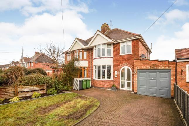 Thumbnail Semi-detached house for sale in Heathcote Road, Whitnash, Leamington Spa, Warwickshire