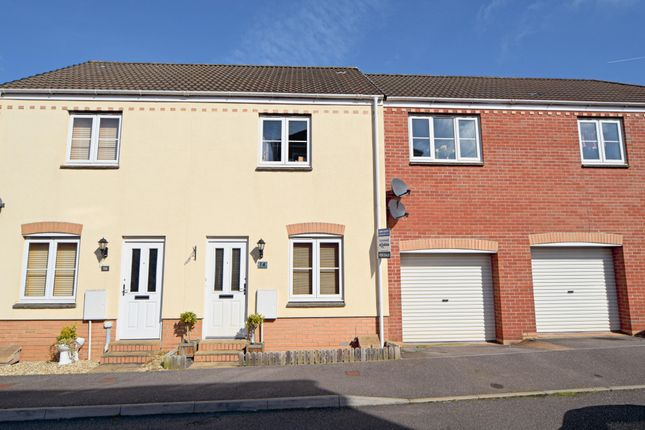 2 bed terraced house for sale in Raleigh Drive, Culllompton