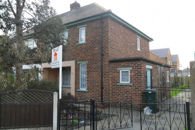 Thumbnail Semi-detached house to rent in Wilberforce Road, Doncaster