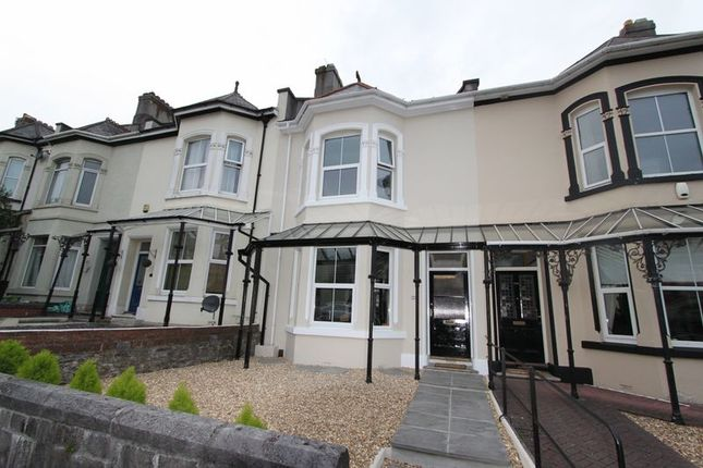 Thumbnail Terraced house for sale in Milehouse Road, Stoke, Plymouth