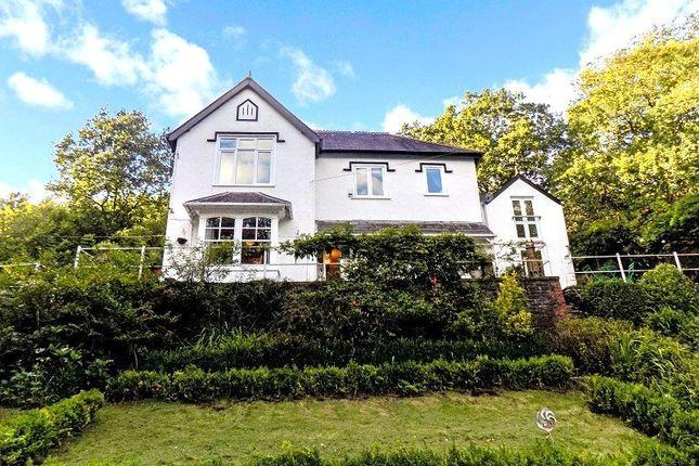 Thumbnail Detached house for sale in Y Deri Glynneath Road, Abergarwed, Neath, Neath Port Talbot.