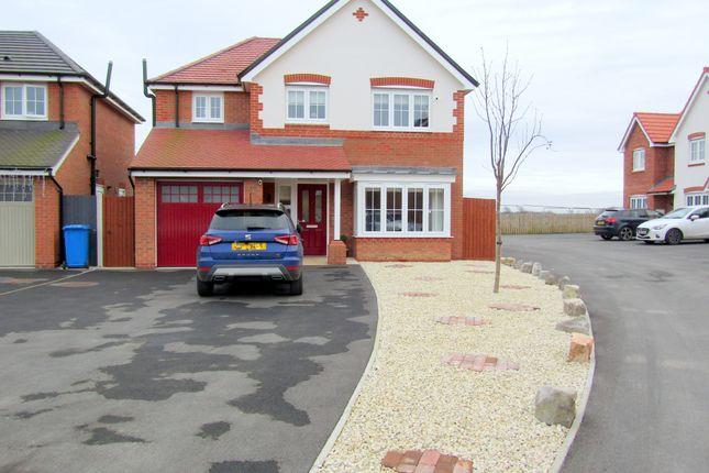 Detached house for sale in Ffordd Aberkinsey, Rhyl