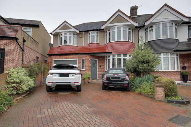 Thumbnail Semi-detached house for sale in Beaulieu Gardens, Winchmore Hill