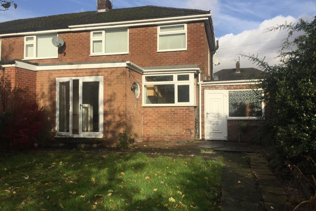 Thumbnail Semi-detached house to rent in Warren Close, Denton, Manchester