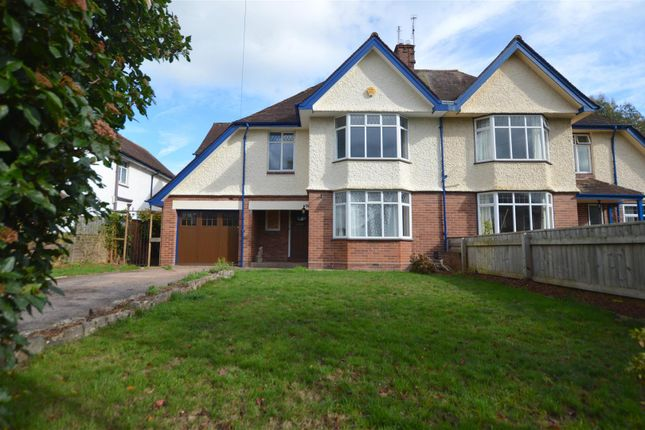Thumbnail Semi-detached house for sale in The Mede, Exeter