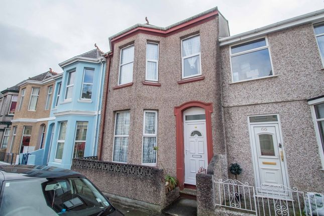 Thumbnail Terraced house for sale in St. Leonards Road, Plymouth