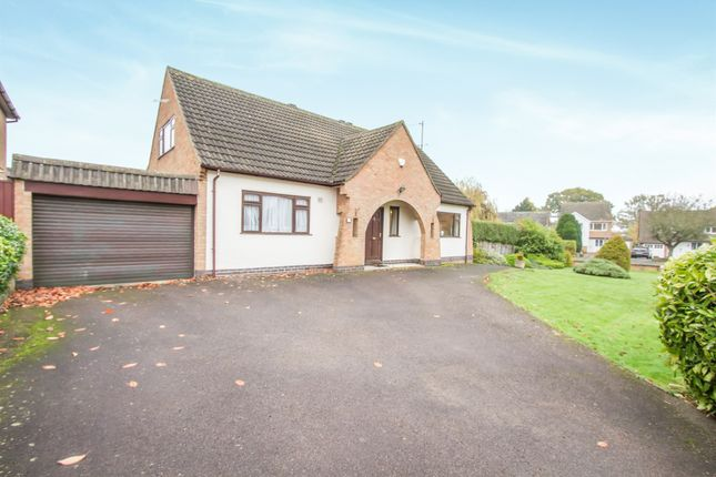 Thumbnail Detached house for sale in Ringers Spinney, Oadby, Leicester