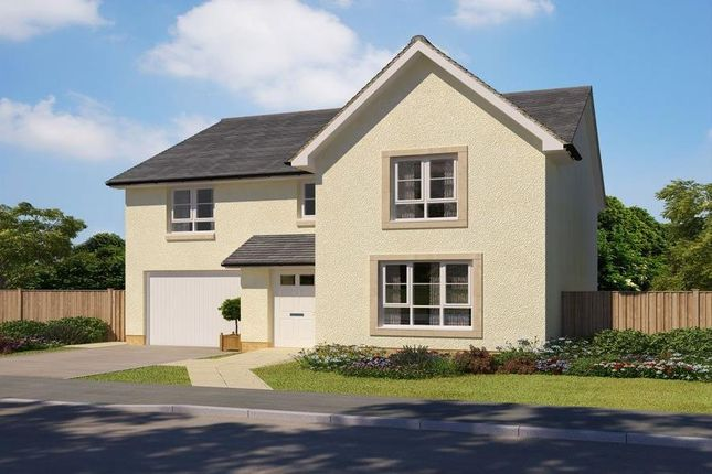 "Thumbnail Detached house for sale in ""Dunbar"" at Abbey Road, Elderslie, Johnstone"
