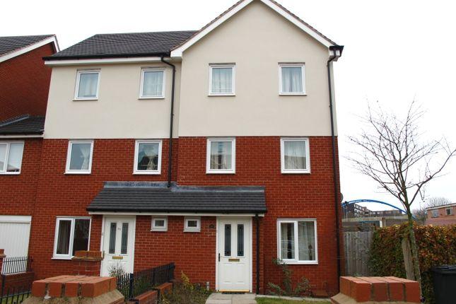 Thumbnail Semi-detached house to rent in Jeremiah Road, Wolverhampton