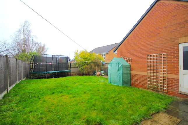 Rear Garden of Jewsbury Way, Thorpe Astley, Braunstone, Leicester LE3