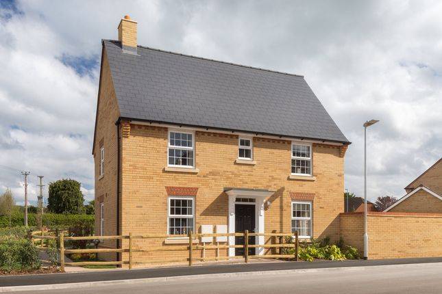 "Thumbnail Detached house for sale in ""Hadley"" at Priorswood, Taunton"