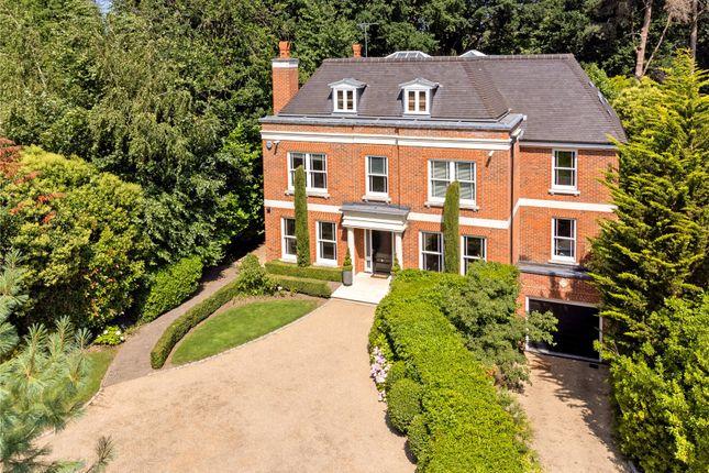 Thumbnail Detached house for sale in Eaton Park Road, Cobham, Surrey