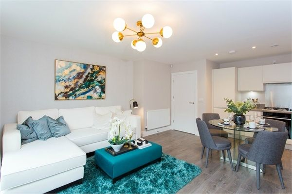Thumbnail Flat for sale in Sutton Court Road, Hillingdon, Uxbridge