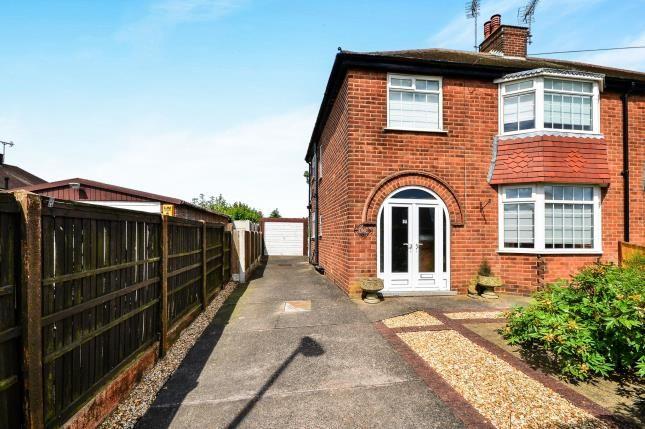 Thumbnail Semi-detached house for sale in Langton Avenue, Kirkby-In-Ashfield, Nottingham
