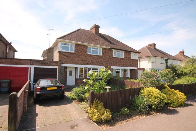 Thumbnail Semi-detached house for sale in Stagsden Road, Bedford