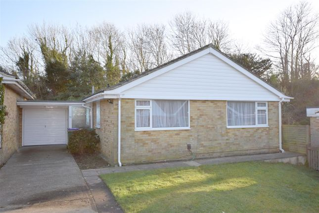 Thumbnail Detached bungalow for sale in Seabrook Court, Hythe