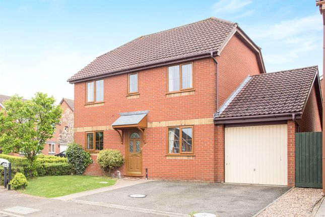 Thumbnail Detached house for sale in Row Hill, West Winch, King's Lynn