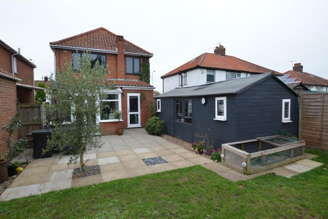 Thumbnail Detached house for sale in Heartsease Lane, Norwich
