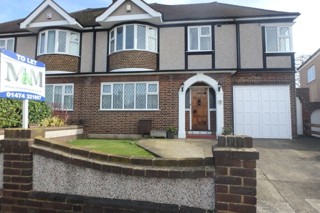Thumbnail Semi-detached house to rent in Pine Avenue, Gravesend